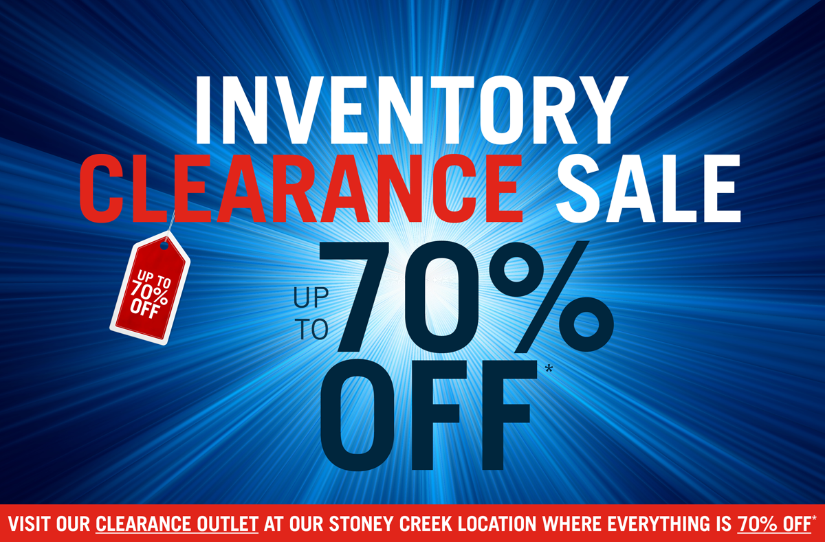 shop our inventory clearance sale with up to 70% off