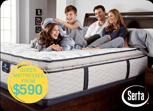 queen mattresses from $590
