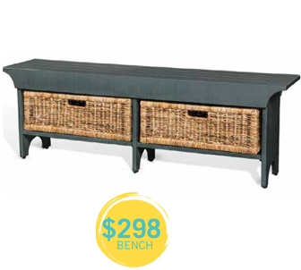 $298 bench