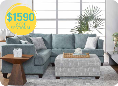 $1590 2 piece sectional