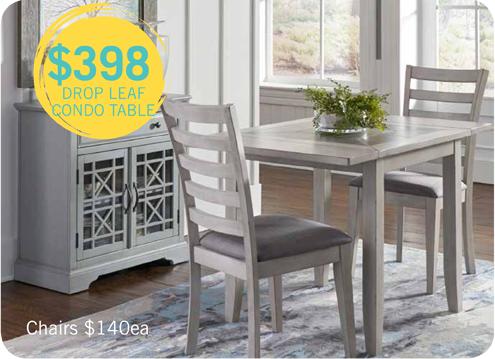 $398 drop leaf table