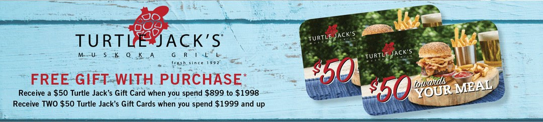 Free Turtle Jack's gift with purchase