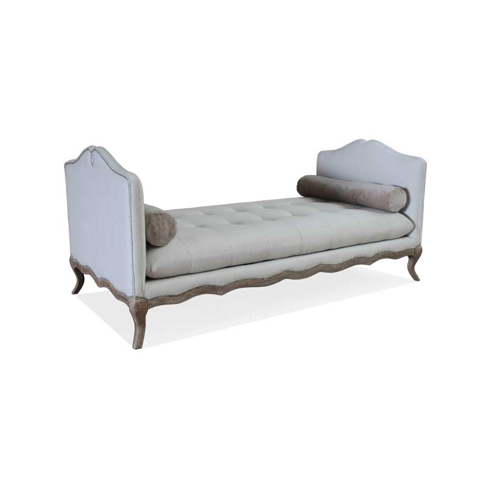 tufted parisian accent bench