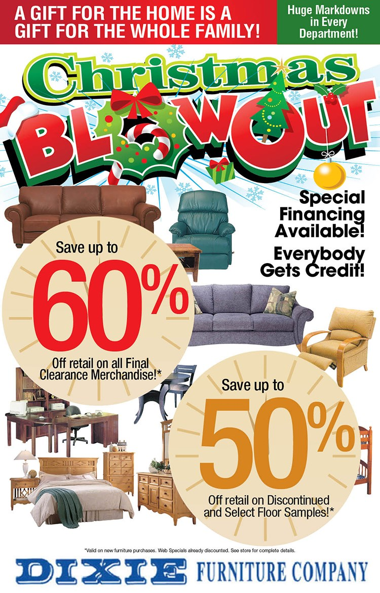 Christmas Blowout!
