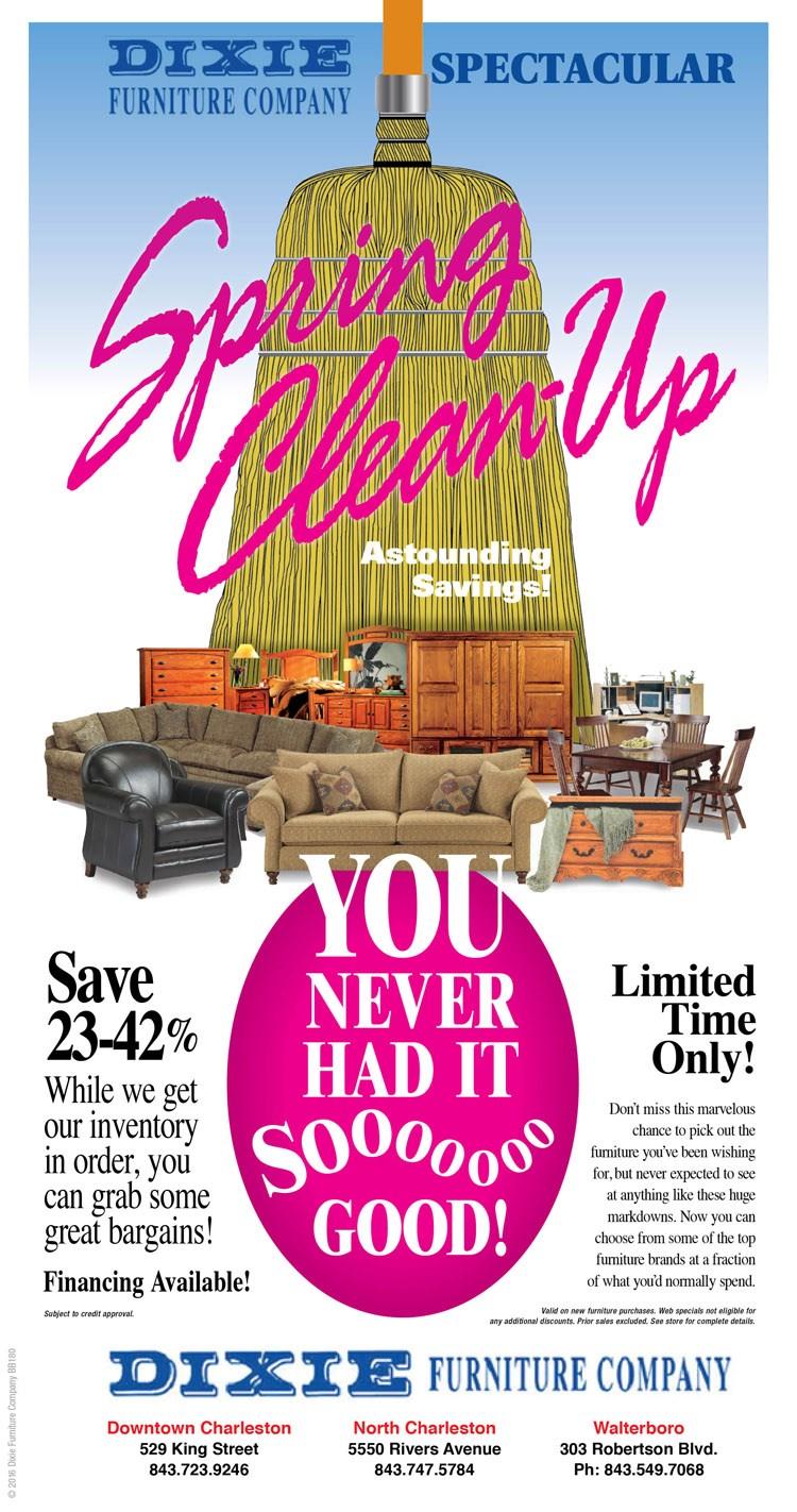 Spring Clean-Up! Astounding Savings!