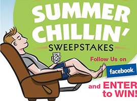 Summer Chilling Sweepstakes!