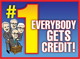 Everybody Gets Credit!