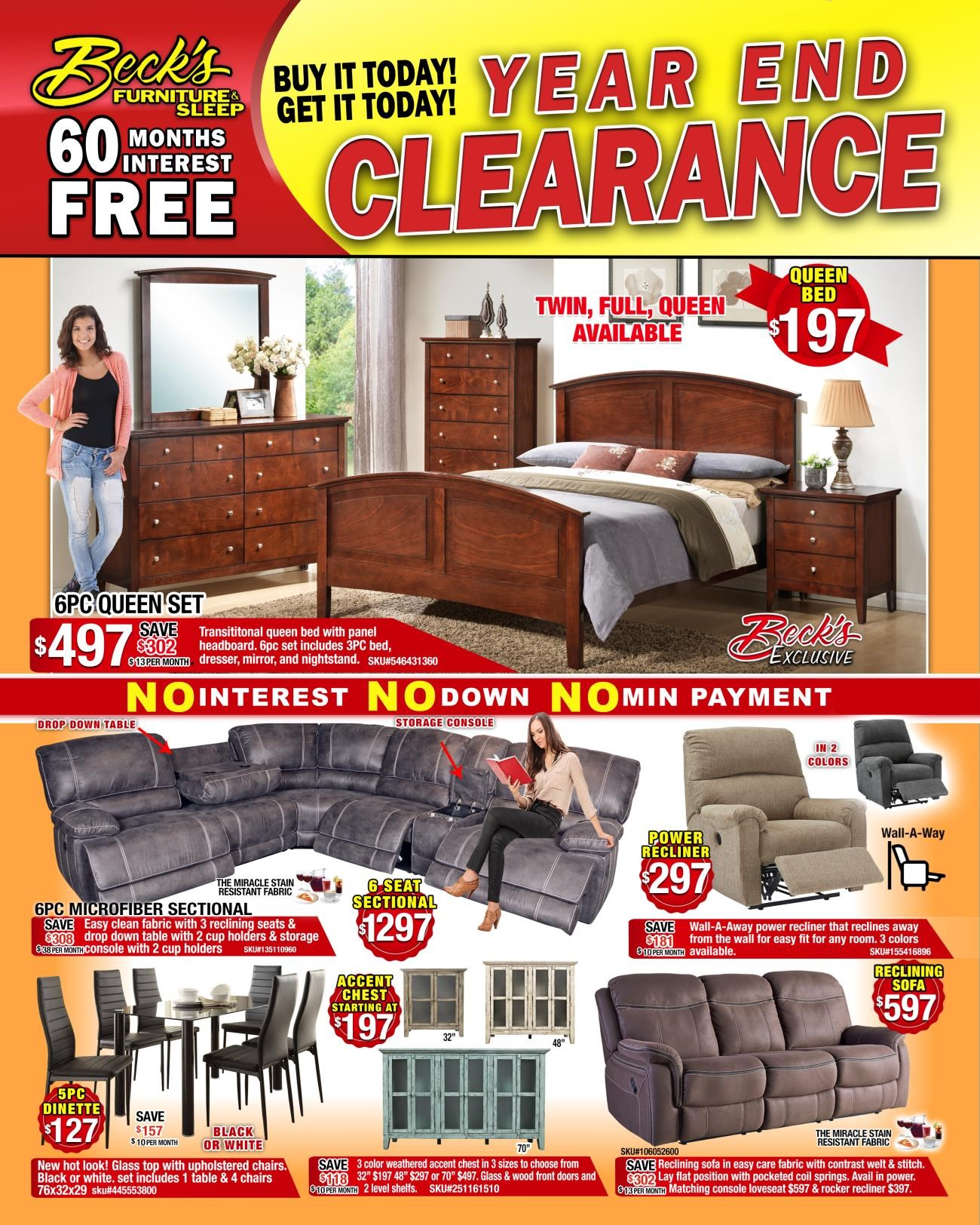 YEAR END CLEARANCE FRONTk jan 2nd