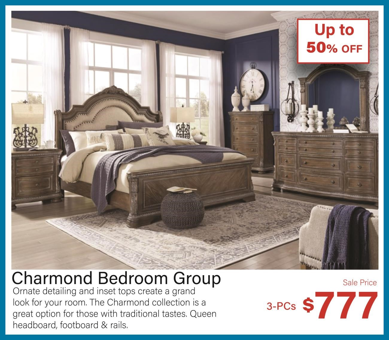 charmond bedroom group