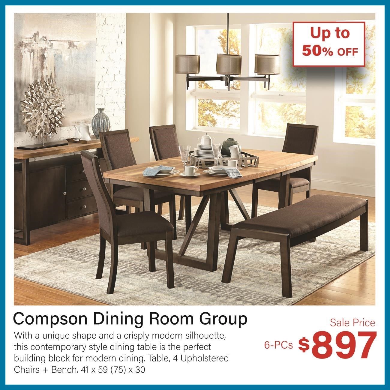compson dining room group
