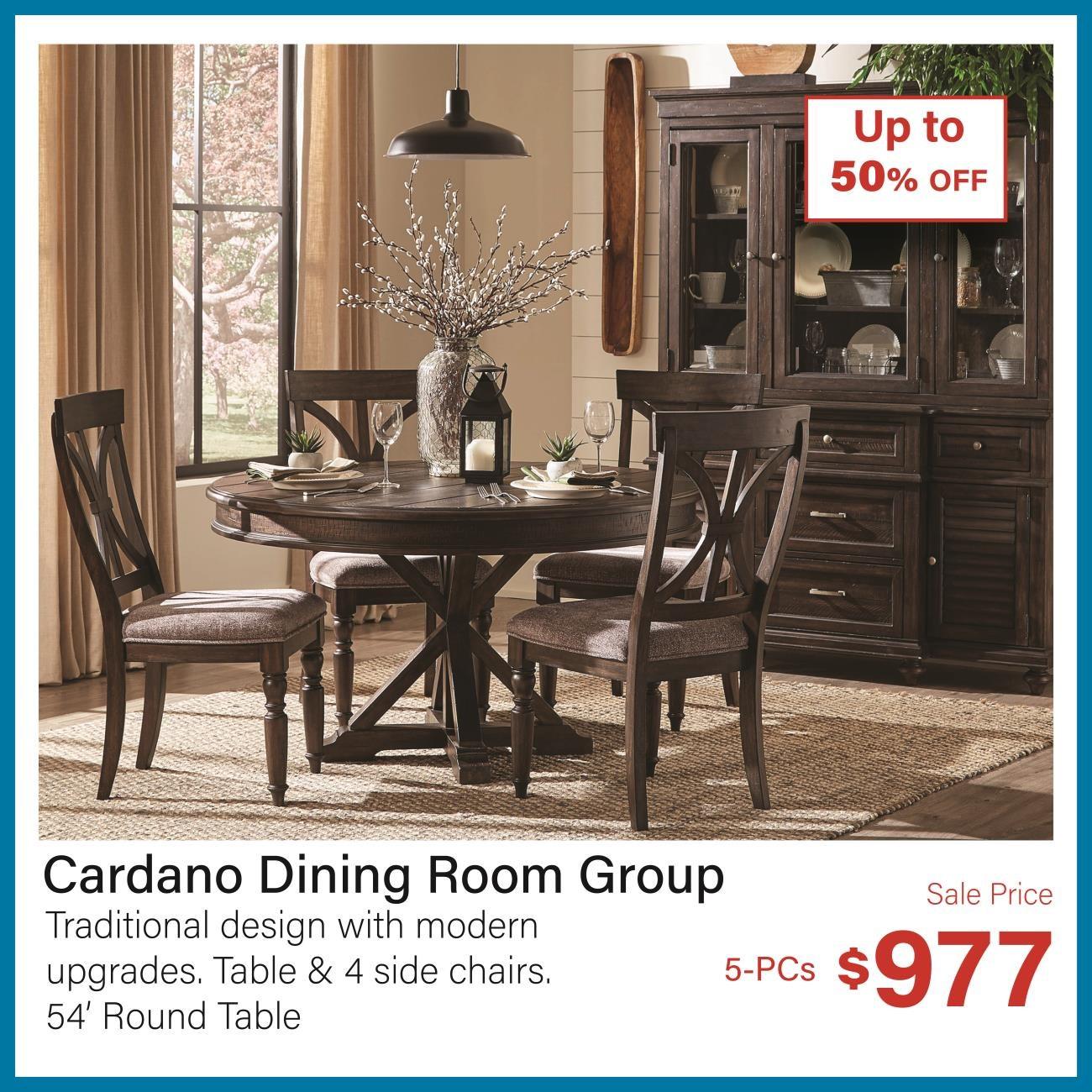 cardano dining room group