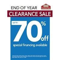 Year End Clearance 2017