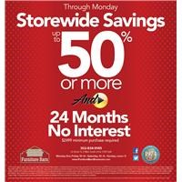 Up To 50% - 24 month
