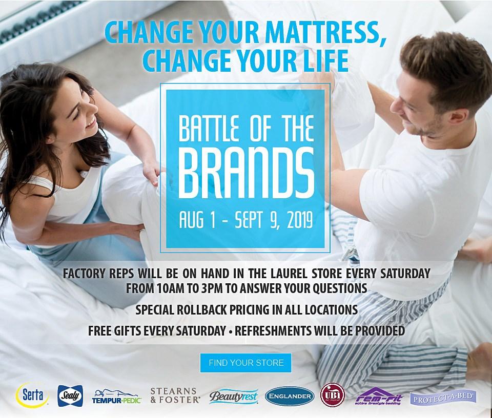 Battle of the Brands Mattress Event