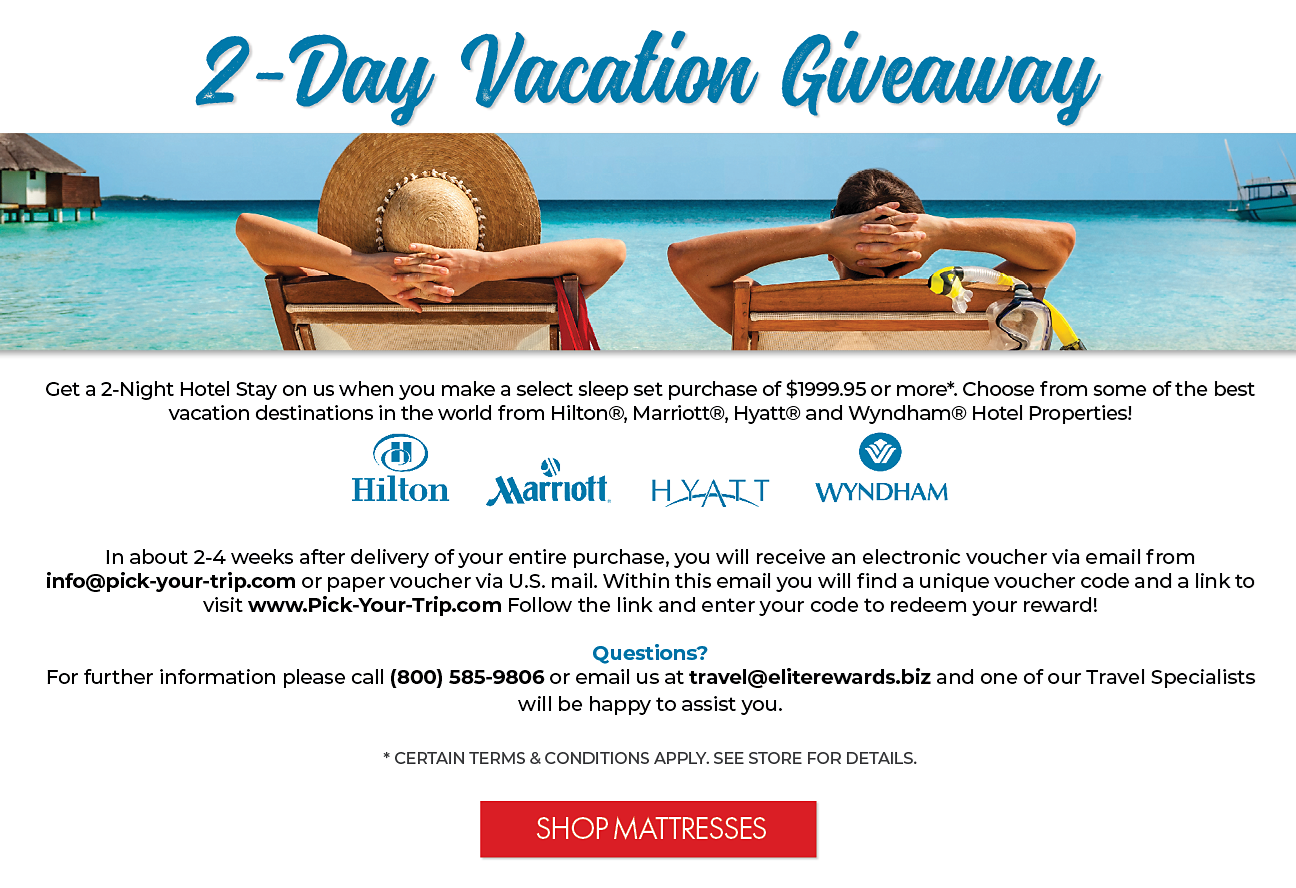 2-Day Vacation Giveaway