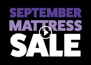 September Mattress Sale