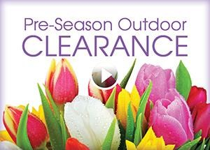 Pre-Season Outdoor Clearance