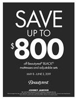 Save up to $800 off Beautyrest Black Adjustable Sleep Sets