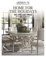 10% Off select Lexington Merchandise