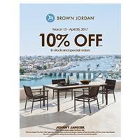 10% Off Brown Jordan