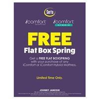 Serta iComfort & iComfort Hybrid Free Box Spring. Nov. 8 - Nov. 27