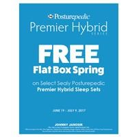 Sealy Posturepedic Hybrid Free Box Spring