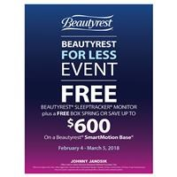 Beautyrest For Less Event