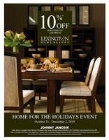 Lexington Home for the Holidays Event
