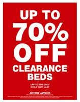 Up To 70% Off Clearance Beds