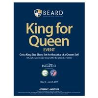 Paramount King for Queen Event