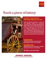See the Wells Fargo Stagecoach