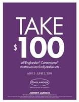 Take $100 Off Englander Sleep Sets