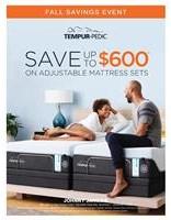 Tempur-Pedic Fall Savings Event