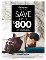 Save up to $800 Off Beautyrest Black Mattresses or Adjustable Sets