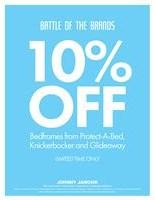 10% Off Select Bedframes