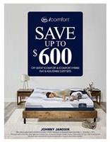 Save up to $600 Off Serta iComfort & iComfort Hybrid Mattresses & Adjustable Sleep Sets