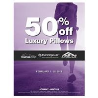 50% Off Luxury Pillows