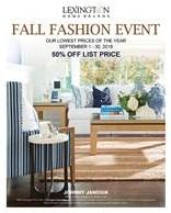 Lexington Fall Fashion Event