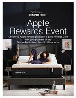 Tempur-Pedic Apple Rewards