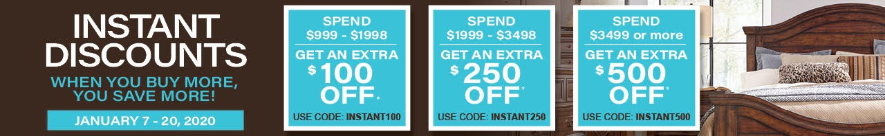 Use coupon codes for instant discounts