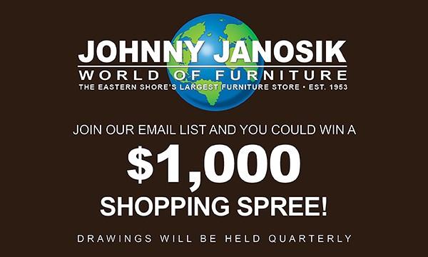 Exceptionnel Johnny Janosik | Delaware, Maryland, Virginia, Delmarva ...