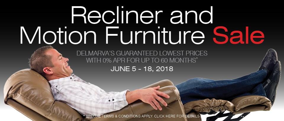 Recliner & Motion Furniture Sale