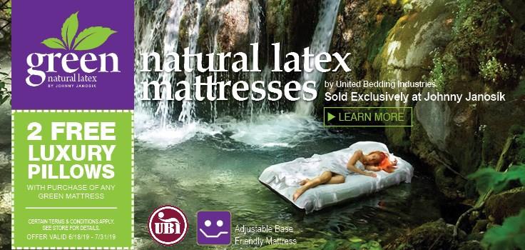 Green Natural Latex Mattresses