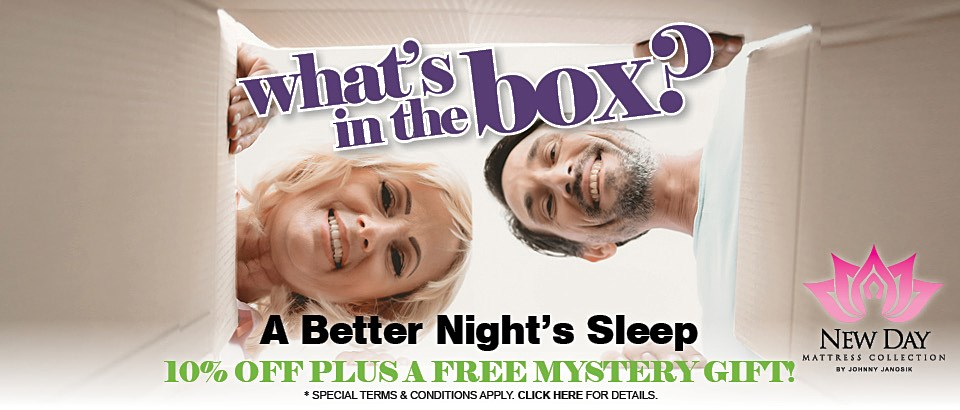 10% Off New Day Mattresses Plus a Free Mystery Gift