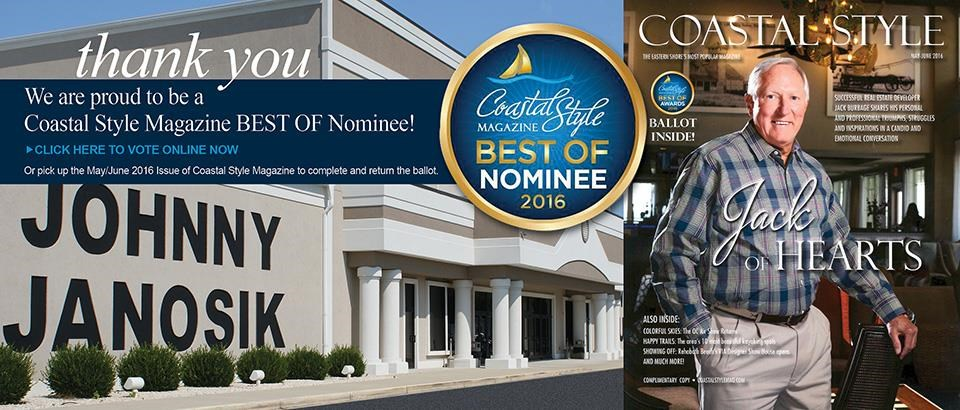 Vote for us in Coastal Style Magazine's 2016 Best Of Issue