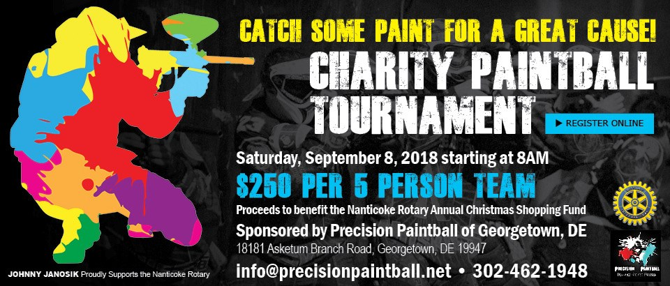 Charity Paintball Tournament