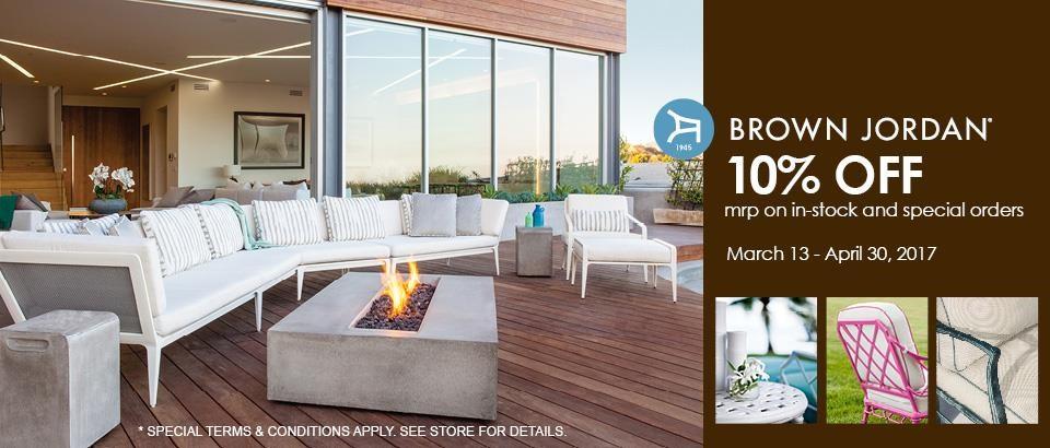 Introducing Brown Jordan Outdoor Furniture