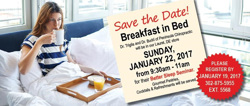 Join Us for Breakfast in Bed