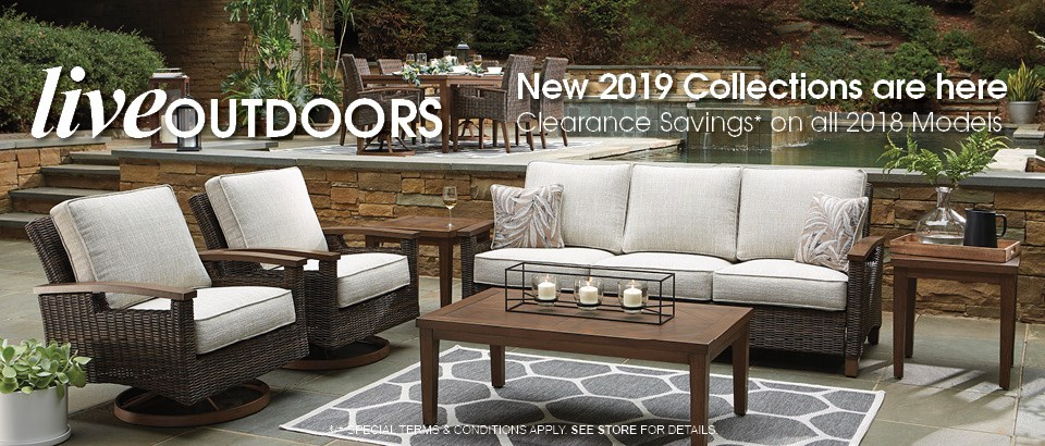 New 2019 Outdoor Furniture Collections are here!