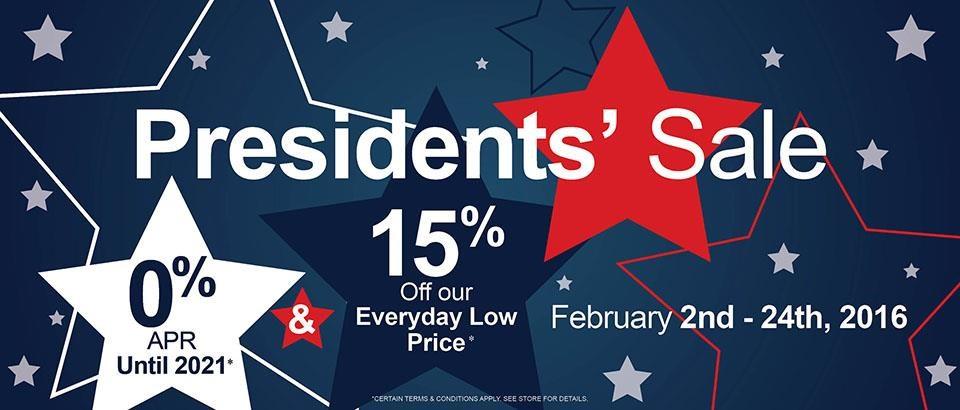 Presidents' Sale 2016